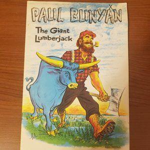 Vintage Paul Bunyan the Giant Lumberjack 1968